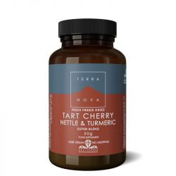Terranova Tart Cherry, Nettle & Turmeric Super-Blend Powder 50g