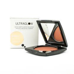 Ultra Glow Active Matte Water Resistant Pressed Bronzing Powder 9g