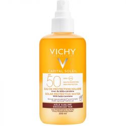 Vichy Capital Soleil Tan Enhancing Solar Protective Water SPF50 200ml