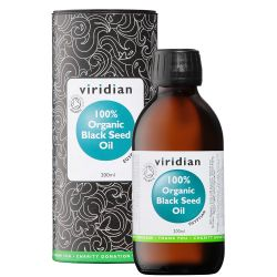 Viridian 100% Organic Black Seed Oil 200ml