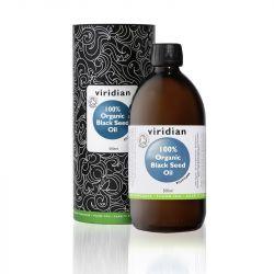 Viridian 100% Organic Black Seed Oil 500ml