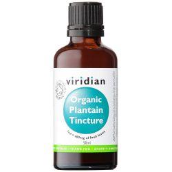 Viridian 100% Organic Plantain Tincture 50ml