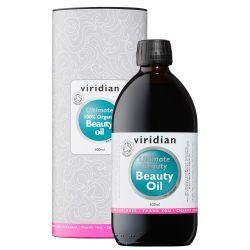 Viridian 100% Organic Ultimate Beauty Oil 500ml