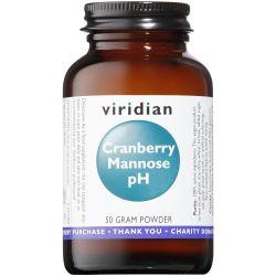 Viridian Cranberry Mannose pH Powder 50g