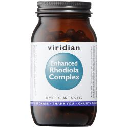 Viridian Enhanced Rhodiola Complex Veg Caps 90
