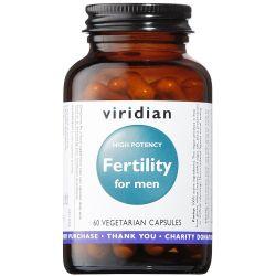 Viridian Fertility for Men Veg Caps (high potency) 60