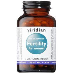 Viridian Fertility for Women Veg Caps 60