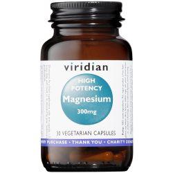 Viridian High Potency Magnesium Veg Caps 30
