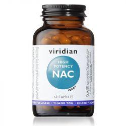 Viridian High Potency NAC Vegicaps 60