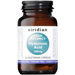 Viridian Hyaluronic Acid 200mg Veg Caps 30