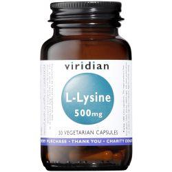 Viridian L-Lysine 500mg Veg Caps 30