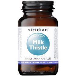 Viridian Milk Thistle Herb/Seed Extract Veg Caps 30
