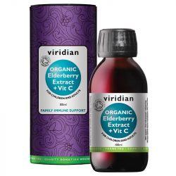 Viridian Organic Elderberry Extract 100ml
