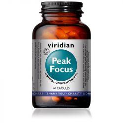 Viridian Peak Focus Vegetable Capsules 60