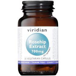 Viridian Rosehip Extract 700mg Veg Caps 30