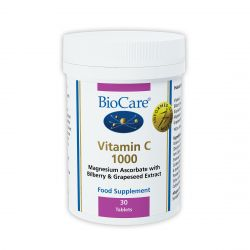 BioCare Vitamin C 1000mg Tablets 30