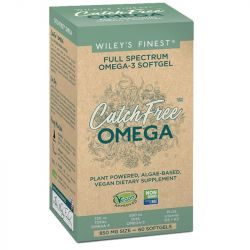 Wiley's Finest Catch Free Omega-3 Capsules 60