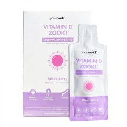 YourZooki Liposomal Vitamin D3 Sachets 14x15ml