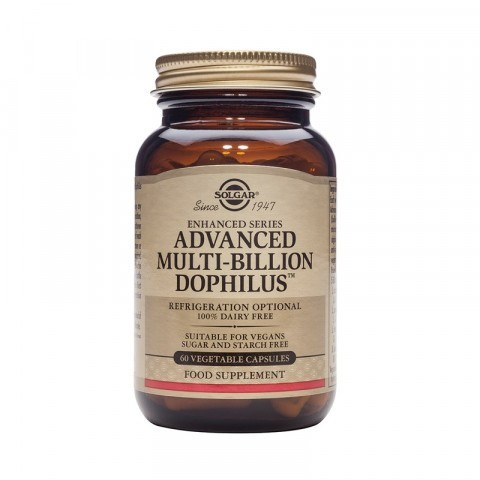 Solgar Advanced Multi-Billion Dophilus Vegicaps 60