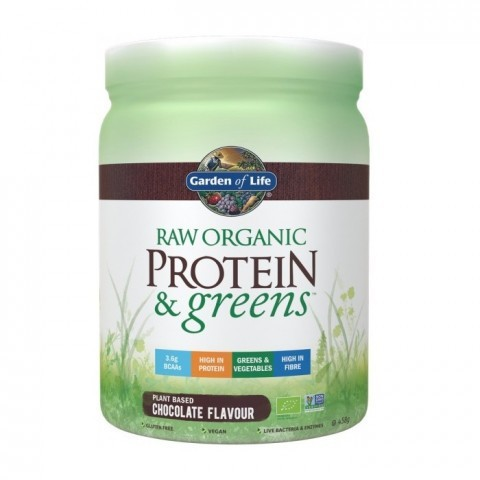 Garden Of Life Raw Organic Protein & Greens Chocolate 458g