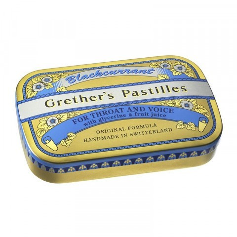 Grether's Blackcurrant Pastilles 60g