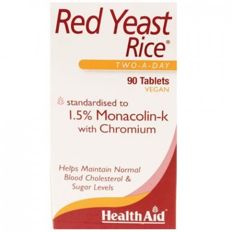 HealthAid Red Yeast Rice Tablets 90