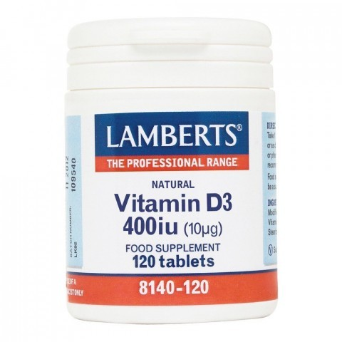 Lamberts Vitamin D3 400iu Tablets 120