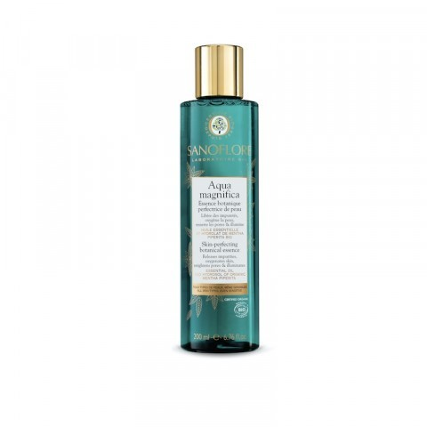 Sanoflore Aqua Magnifica Peppermint Skin-Perfecting Purifying Toner 200ml