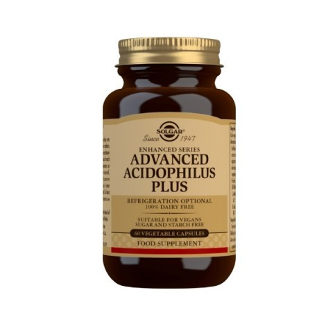 Solgar Advanced Acidophilus Plus Vegicaps 60