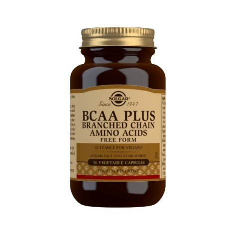 Solgar BCAA Plus Vegicaps 50