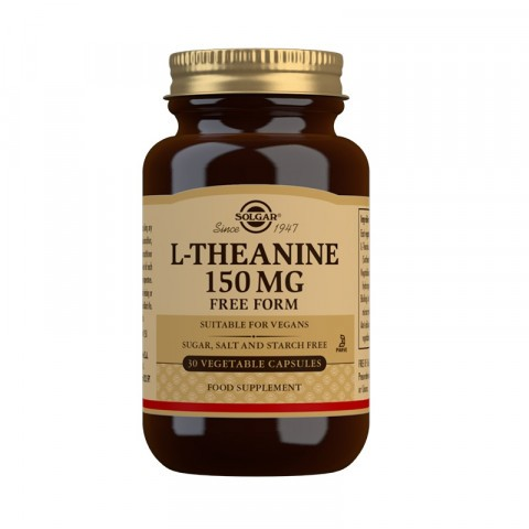 Solgar L-Theanine 150mg Vegicaps 30