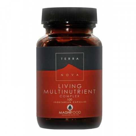 Terranova Living Multinutrient Complex Vegicaps 100