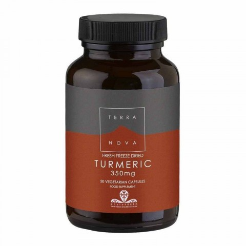 Terranova Turmeric Root 350mg Vegicaps 50