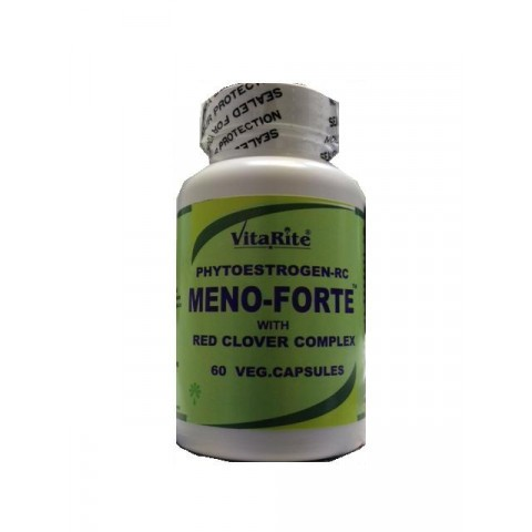 VitaRite Meno-Forte with Red Clover Complex Vegicaps 60
