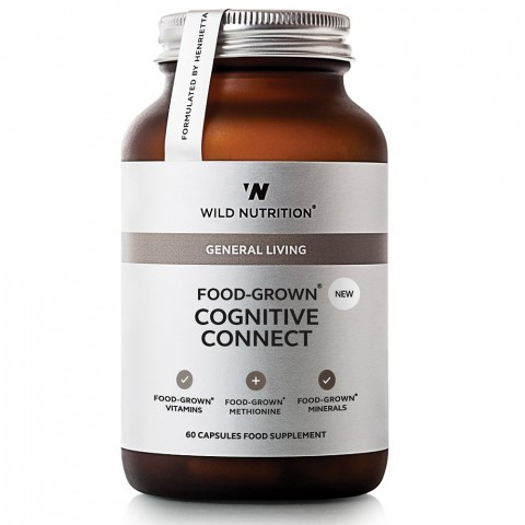 Wild Nutrition Food-Grown Cognitive Connect Capsules 90