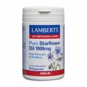 Lamberts Pure Starflower 1000mg Capsules 90