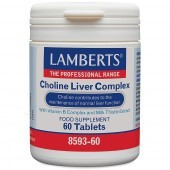 Lamberts Choline 200mg/Inositol 200mg Capsules 60