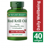 Nature's Bounty Red Krill Oil 500mg Softgels 40