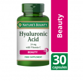 Nature's Bounty Hyaluronic Acid 20mg with Vitamin C Caps 30