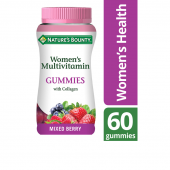 Nature's Bounty Women's Multivitamin with Collagen Gummies 60