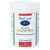 BioCare MicroCell CoQ-10 Plus Linseed Vegicaps 60