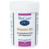 BioCare Magnesium Plus Pantothenate Vegicaps 60