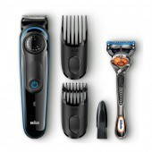 Braun Beard Trimmer 39 Lengths + Free Razor