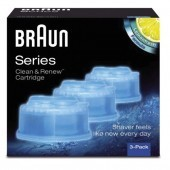 Braun Clean & Charge Shaver Refills Pack Pack of 3