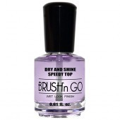 Duri Brush N Go Dry and Shine Speedy Top Coat 18ml