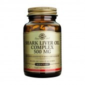 Solgar Shark Liver Oil 500mg Softgels 60