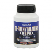 HealthAid DL-Phenylalanine (DLPA) 500mg tablets 30