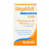HealthAid Mega-Multi (with Ginseng) Tablets 30