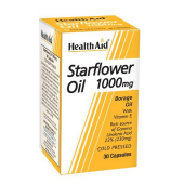 HealthAid Starflower Oil 1000mg (23% GLA) Capsules 30