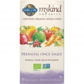 Garden Of Life Mykind Organics Prenatal Once Daily Caps 30
